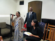 Indira Koshy Welcomes Students